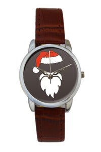 Minimal Santa Claus Illustration Women Wrist Watch