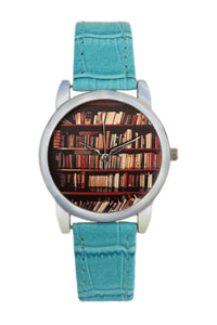 Bookshelves  Women Wrist Watch