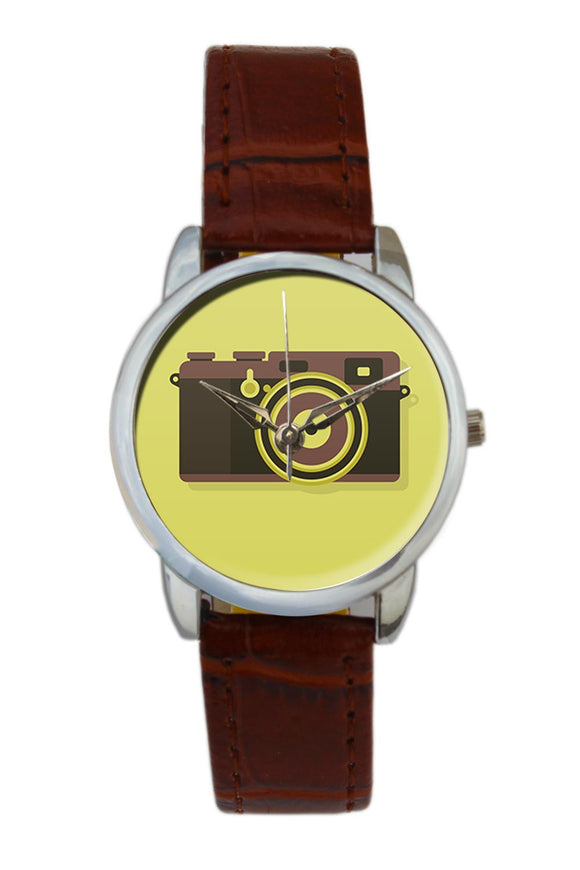 Camera Women Wrist Watch