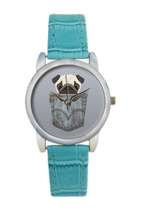 Pug Women Wrist Watch
