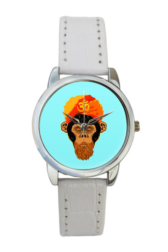 Stonned Monkey Blue Women Wrist Watch