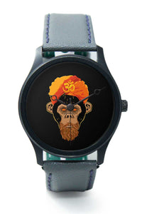 Wrist Watches India |Stonned Monkey Black Premium Men Wrist WatchOnline India.