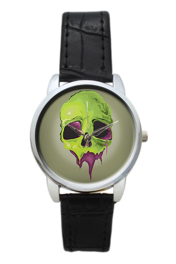 Liquid Skull Women Wrist Watch