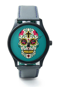 Wrist Watches India |Skull Tattoo Premium Men Wrist WatchOnline India.