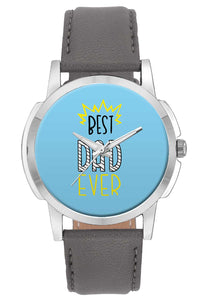 Wrist Watches India | Best Dad Ever Typography  Wrist Watch Online India.