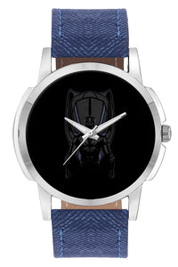 Wrist Watches India | Black Panther Illustration Wrist Watch Online India.
