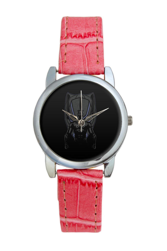Black Panther Illustration Women Wrist Watch