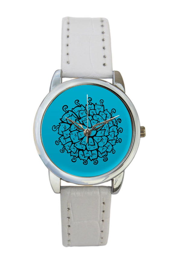 Cat Mandala  Women Wrist Watch