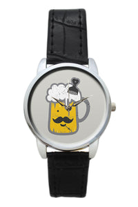 Chilling Beer  Women Wrist Watch
