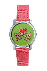 Cute Cats Women Wrist Watch