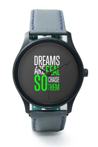 Wrist Watches India |Dreams Are Real So Chase Them Premium Men Wrist WatchOnline India.
