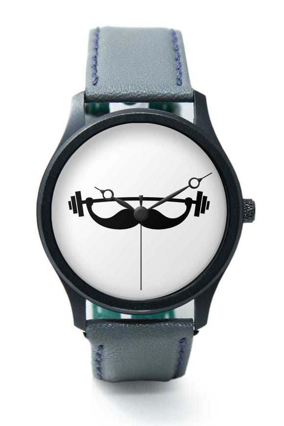 Wrist Watches India |Fitness Mustache  Premium Men Wrist WatchOnline India.