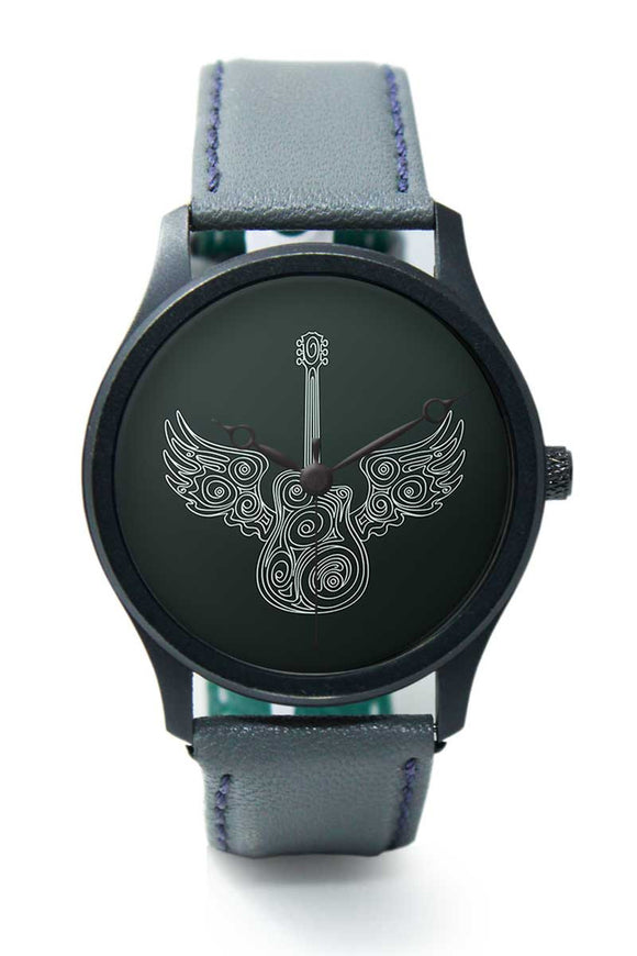 Wrist Watches India |Flying guitar Premium Men Wrist WatchOnline India.