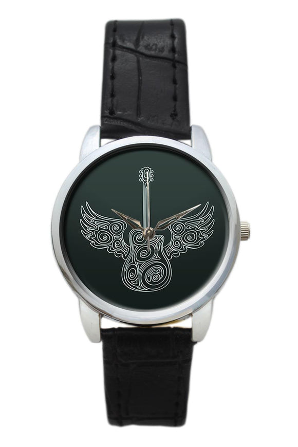 Flying Guitar Women Wrist Watch