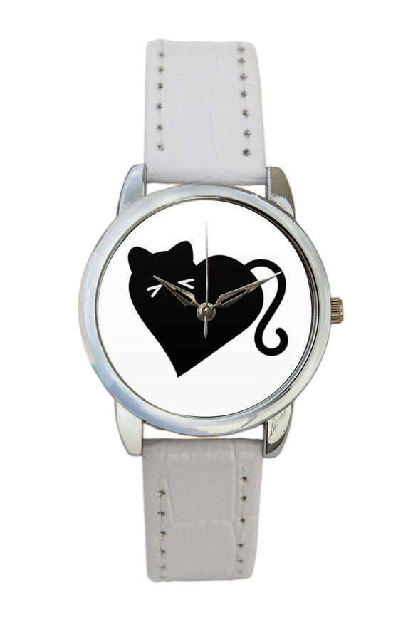 Heart Cat  Women Wrist Watch