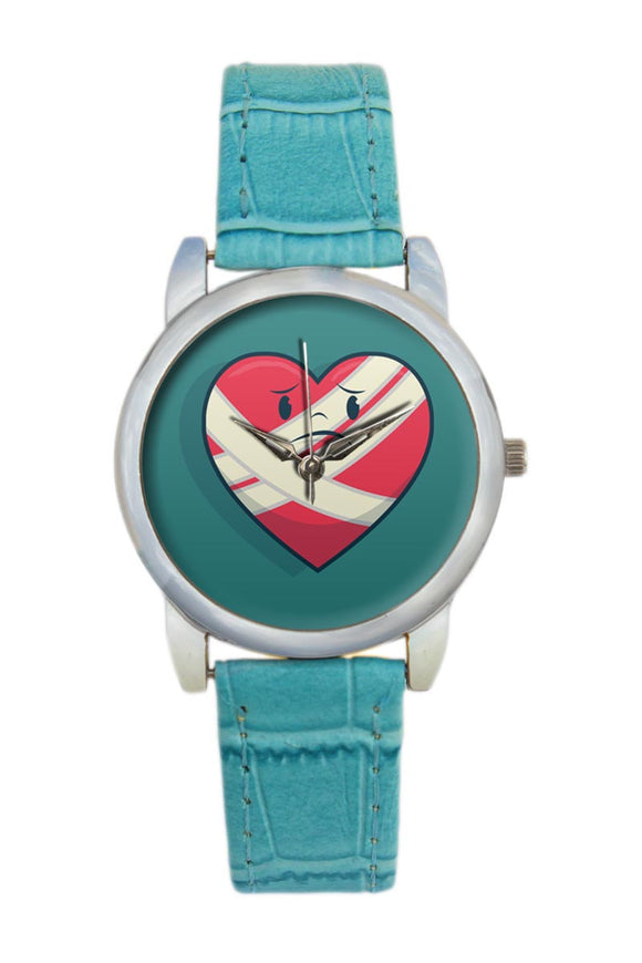 Bandaged Heart Women Wrist Watch