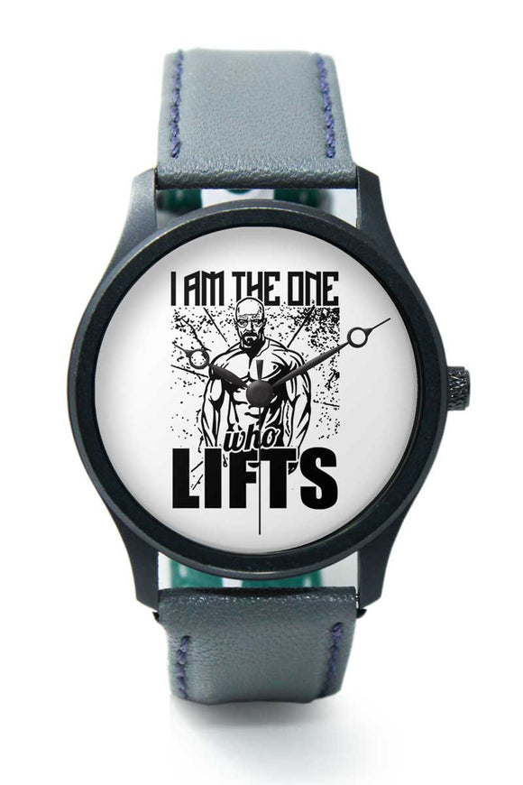 Wrist Watches India |I am the one who lifts  Premium Men Wrist WatchOnline India.
