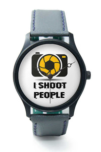 Wrist Watches India |I shoot people  Premium Men Wrist WatchOnline India.