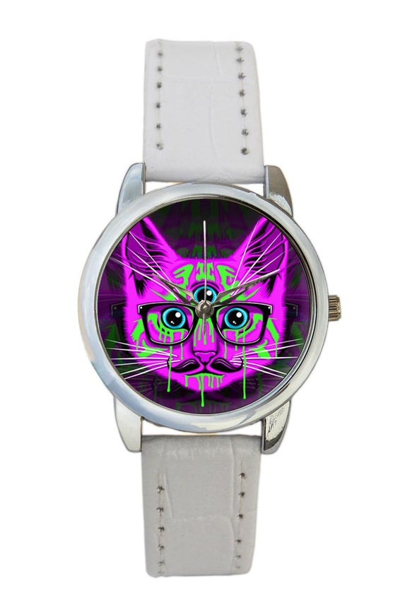 Illuminati Cat Women Wrist Watch
