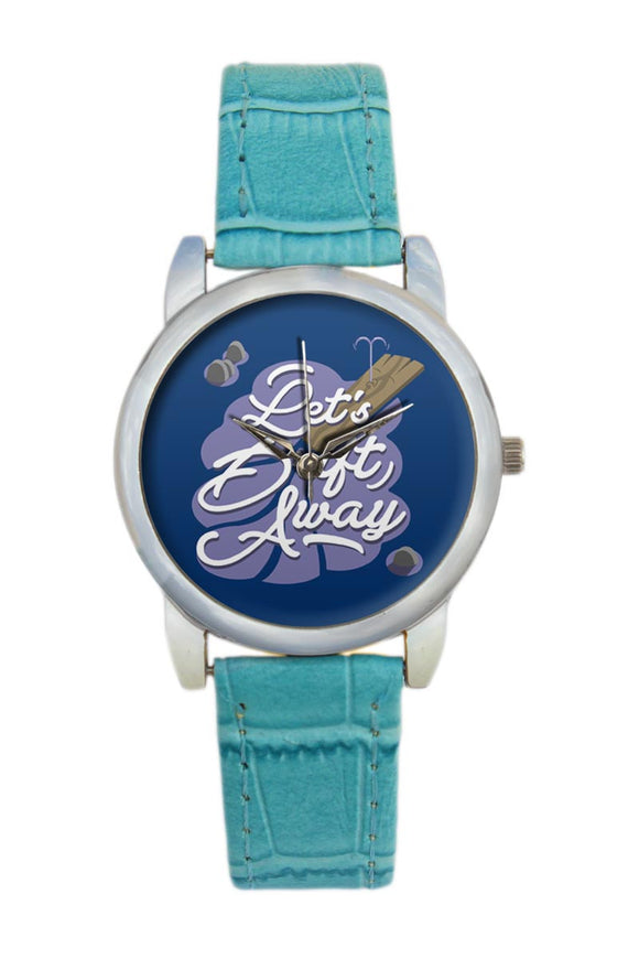 Lets Drift Away  Women Wrist Watch