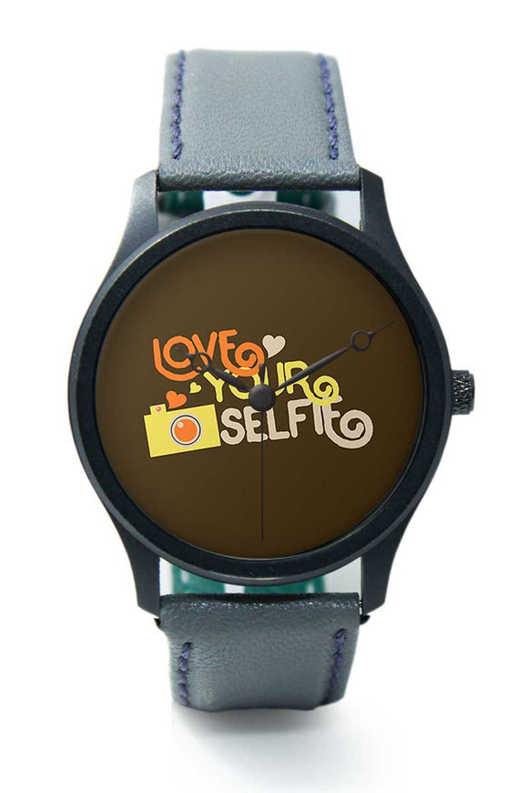 Wrist Watches India |Love Your Selfie  Premium Men Wrist WatchOnline India.