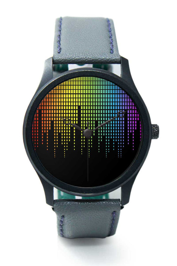 Wrist Watches India |Colorful Music Equalizer  Premium Men Wrist WatchOnline India.