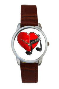 Music Heart Illustration Women Wrist Watch