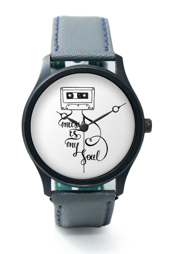 Wrist Watches India |Music is my soul Illustration Premium Men Wrist WatchOnline India.