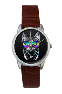 Quirky Musical Cat Women Wrist Watch