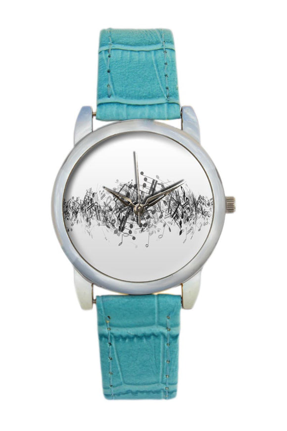 Psychedelic Notes  Women Wrist Watch