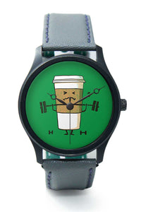 Wrist Watches India |Strong Coffee pumps Premium Men Wrist WatchOnline India.