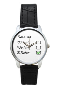 Time To Relax Women Wrist Watch