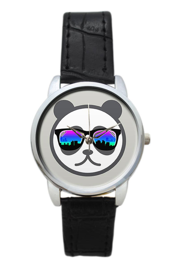 Cool City Panda  Women Wrist Watch