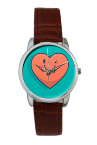 Winked Heart  Women Wrist Watch