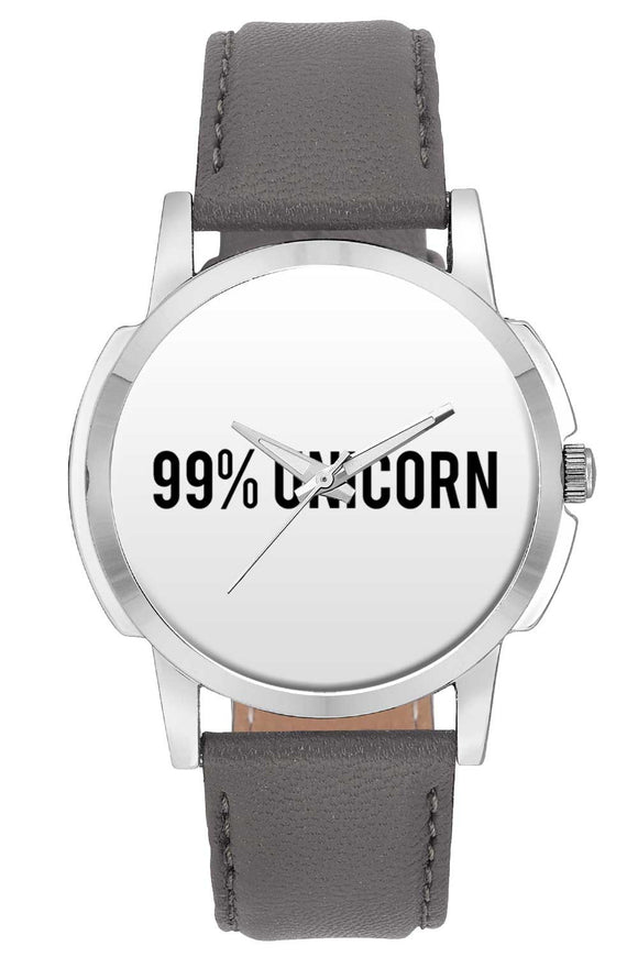Wrist Watches India | 99% Unicorn | Typography  Wrist Watch Online India.