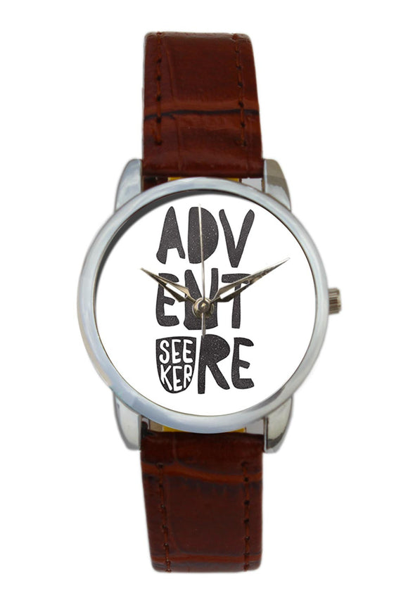 Adventure Seeker Travel Quote  Women Wrist Watch