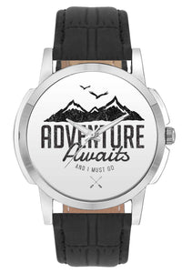Wrist Watches India | Adventure Awaits Travel Quote  Wrist Watch Online India.