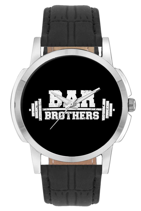 Wrist Watches India | Bar Brothers Gym Typography  Wrist Watch Online India.