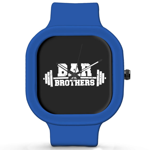 Unisex Men And Women Wrist Watch India | Bar Brothers Gym Typography Waterproof Silicone Unisex Wrist Watch For Men And Women  Online India