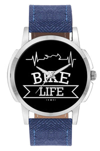 Wrist Watches India | Bike Life Minimal Wrist Watch Online India.