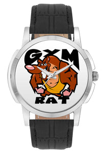 Wrist Watches India | Ain't Got Time For Lazy Motivational Quote Wrist Watch Online India.