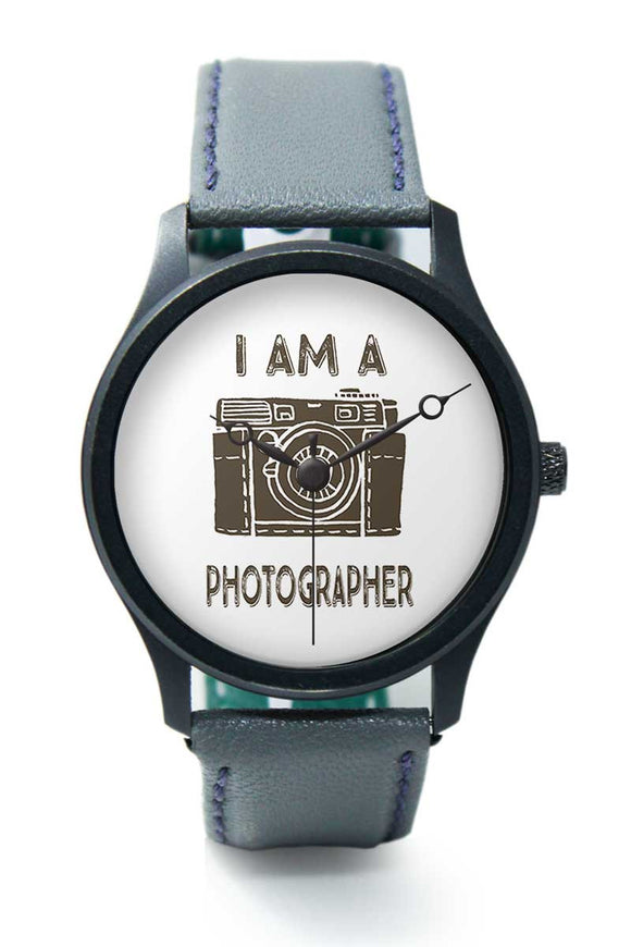 Wrist Watches India |I am Photographer Camera Illustration  Premium Men Wrist WatchOnline India.