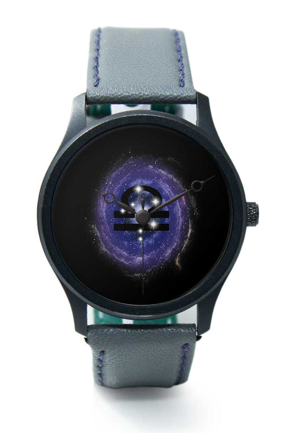 Wrist Watches India |Libra Zodiac Minimal Illustration  Premium Men Wrist WatchOnline India.