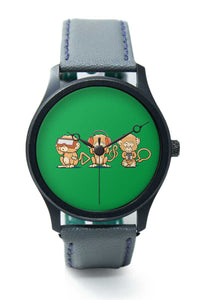 Wrist Watches India |Modern Monkey Quirky Illustration  Premium Men Wrist WatchOnline India.