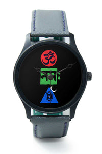 Wrist Watches India |Om namah shivay Religious Illustration  Premium Men Wrist WatchOnline India.