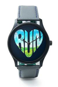 Wrist Watches India |Run Motivational Illustration  Premium Men Wrist WatchOnline India.