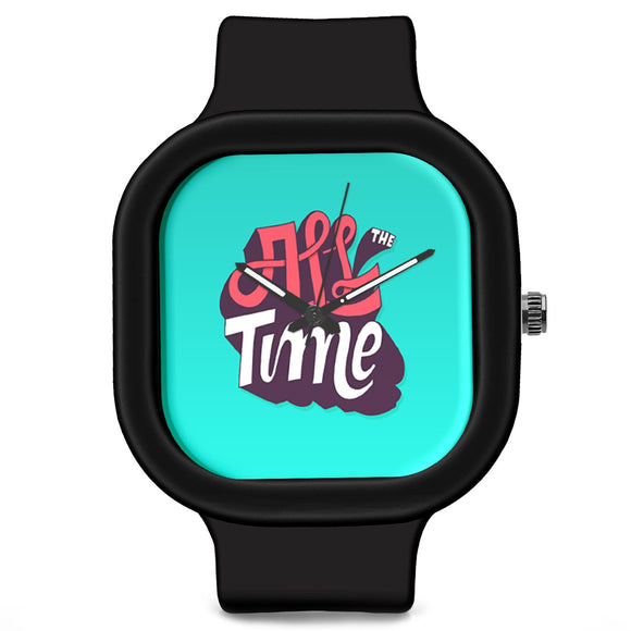 Unisex Men And Women Wrist Watch India |  All The Time Analog  Silicone Square Unisex Wrist Watch Online India