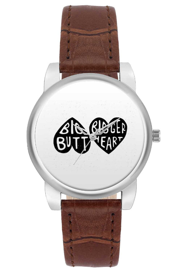 Women Wrist Watch India | Big Butt Bigger Heart Women Wrist Watch Women Wrist Watch Online India