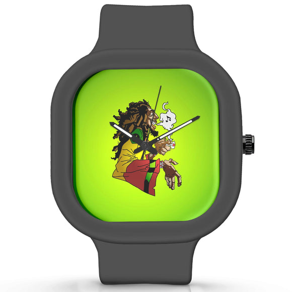 Unisex Men And Women Wrist Watch India |  Bob Marley Analog  Silicone Square Unisex Wrist Watch Online India
