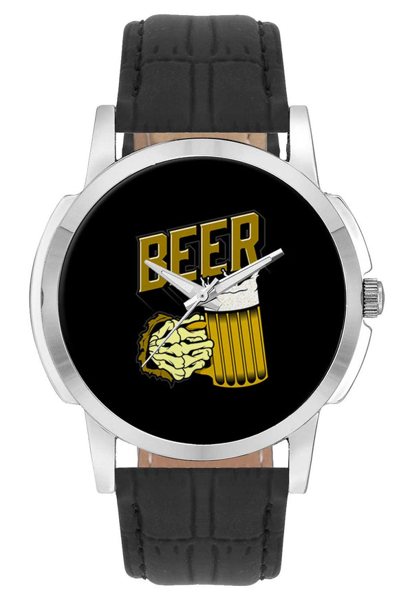 Wrist Watches India | Beer Illustration Wrist Watch Online India.